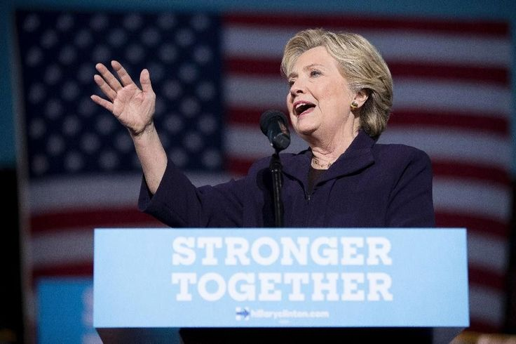 The Latest: New Trump ad questions Clinton's health Oct. 11