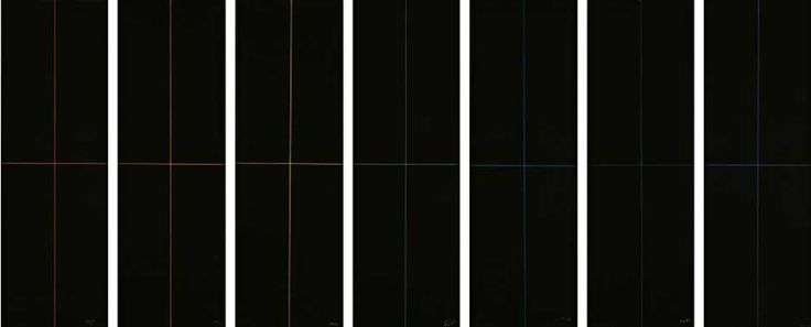 black paintings series - 1968 - ralph hotere
