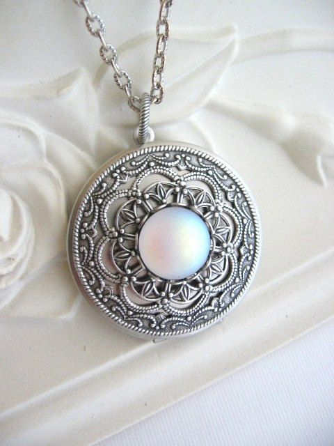 Hey, I found this really awesome Etsy listing at https://www.etsy.com/listing/184710286/moon-locket-silver-locket-necklace