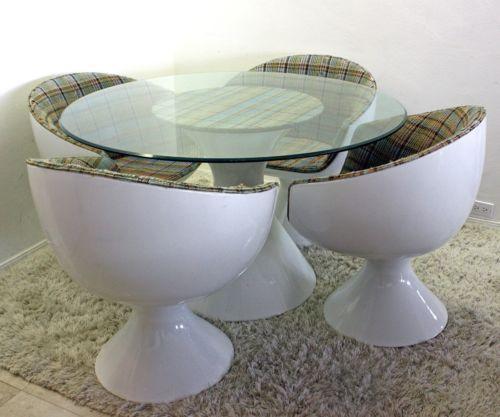 mid century modern rare chromcraft space age dining set mod ebay i own this now - Chromcraft Dining Room Furniture