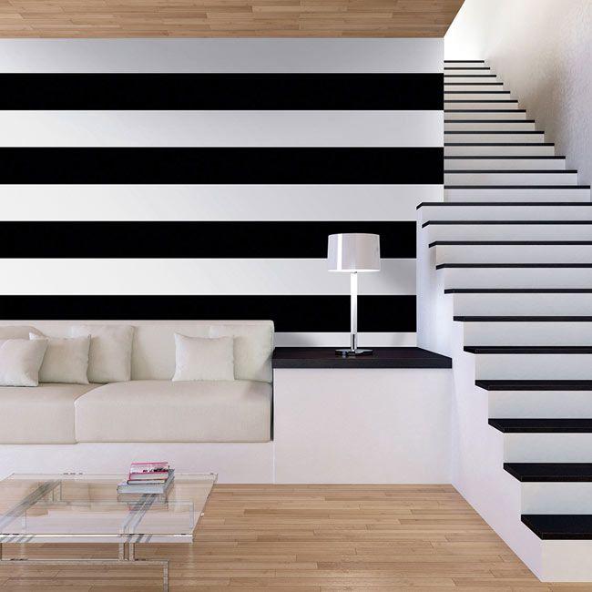 121 mejores im genes sobre juega con tus paredes en - Como poner papel pintado leroy merlin ...