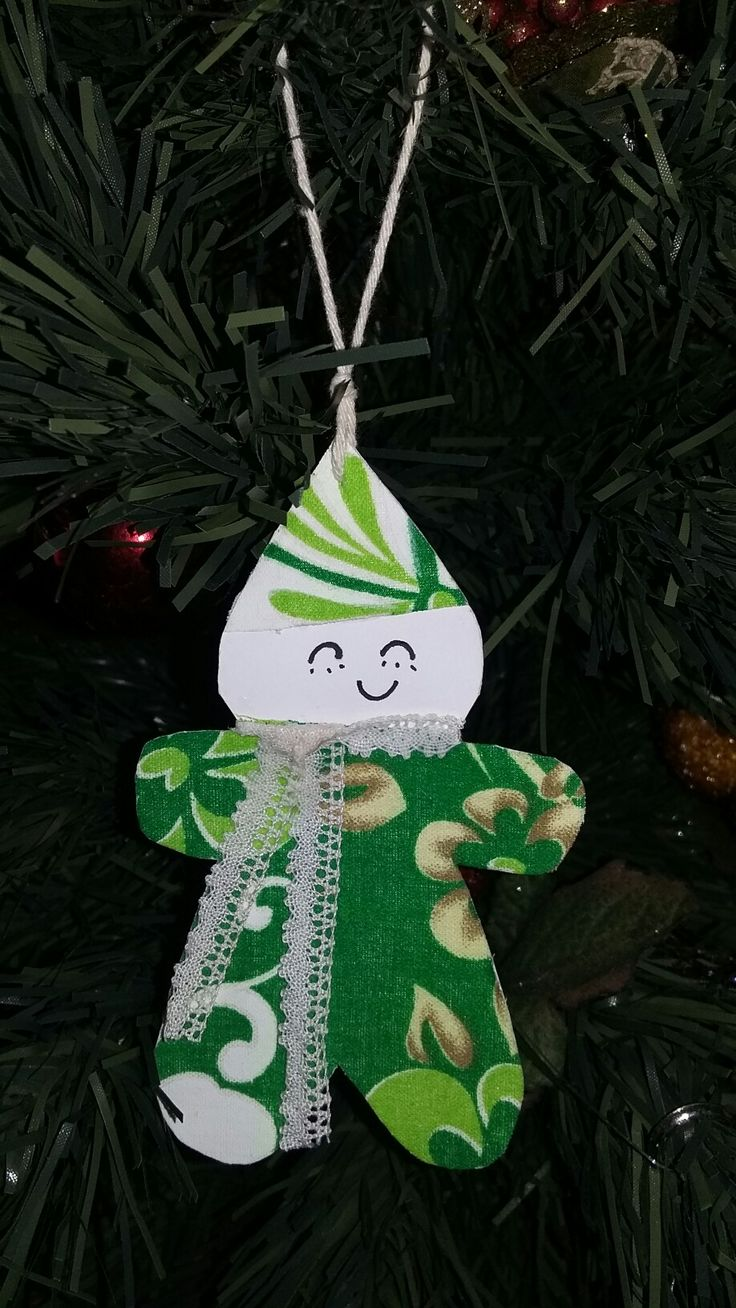 Tahitien Christmas ornament