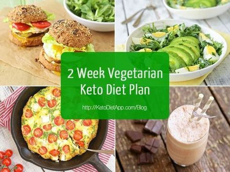 2 Week Vegetarian Keto Diet Plan (low-carb, keto & primal diet plan that is easy to follow!)