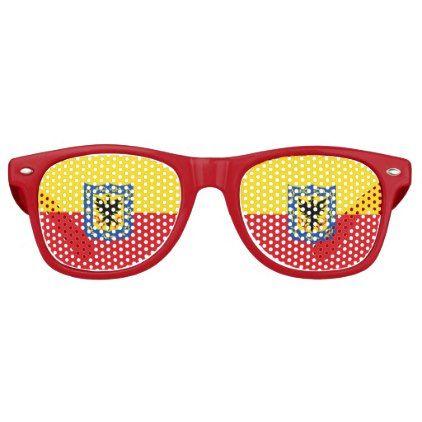Flag of Bogota Colombia Retro Sunglasses  $13.35  by CityFlags  - cyo customize personalize unique diy idea