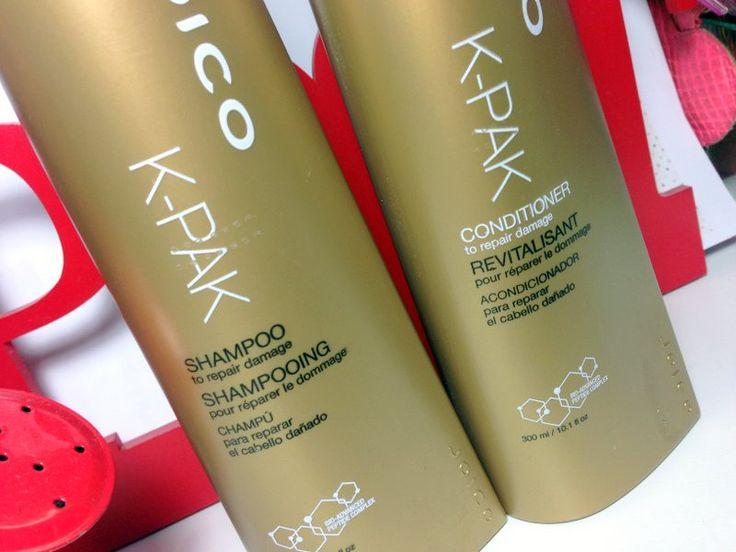 Resenha do Shampoo e condicionador K-Pak Joico To Repair Damage: reconstrução das boas para cabelos quimicamente tratados e elásticos!