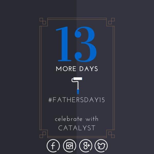 Let @catalystgc help you give Dad the Ultimate-Dad-Space! info@catalystgc.ca