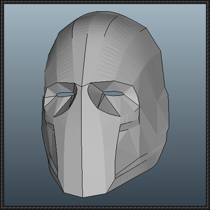 Army of Two - Elliot Salem Mask Papercraft Free Template Download - http://www.papercraftsquare.com/army-two-elliot-salem-mask-papercraft-free-template-download.html