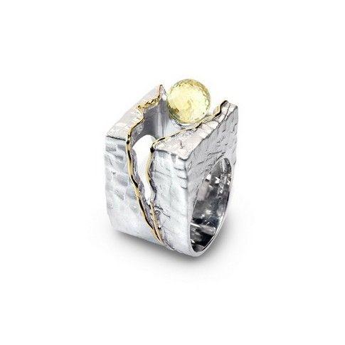 Srebrny pierścionek German Kabirski