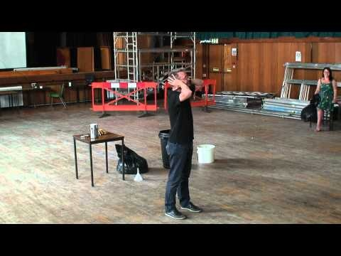 What happens when you take a scientist, liquid nitrogen and 1500 table tennis balls?