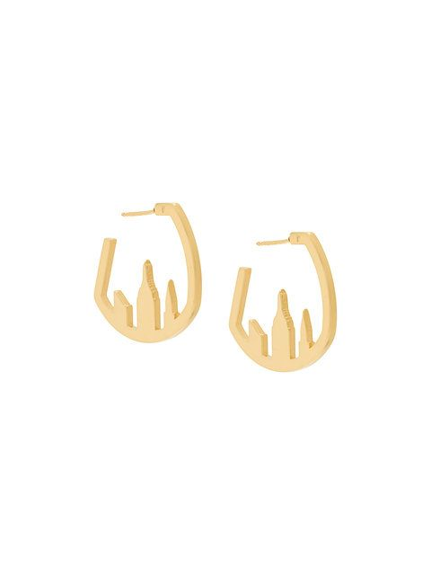 Catalina D'anglade  Woolworth earrings  £252  (