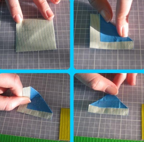 DIY Duct Tape Flower Pens Tutorial | 101 Duct Tape Crafts Please follow us @ http://www.pinterest.com/ducktapesale/
