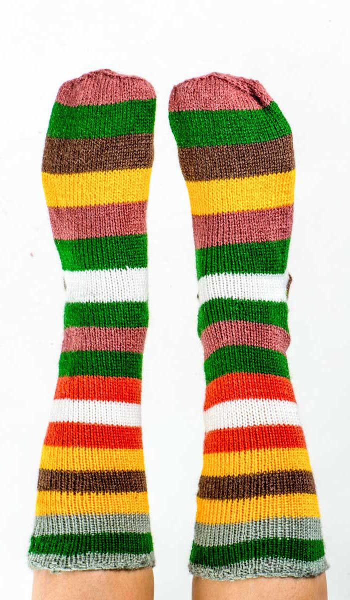 http://indiastyle.ru/products/noski-raznotsvetnye-2012 Носочки из непальской шерсти Nepal wool socks 460 рублей
