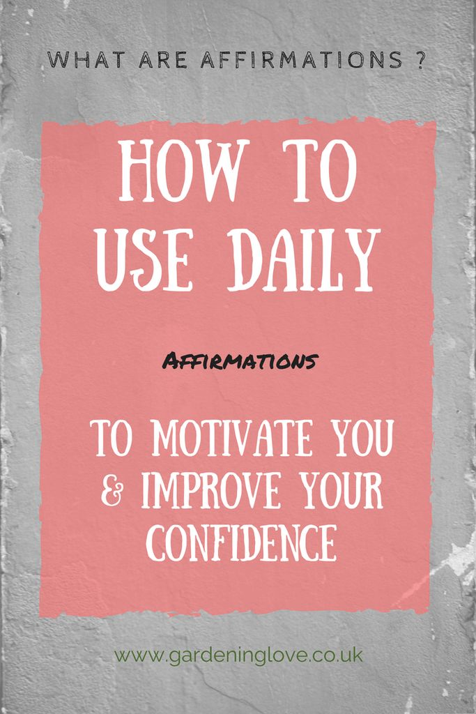 What are affirmations. How to use daily affirmations. Saying positive statements and mantras to enhance your life and wellbeing.
