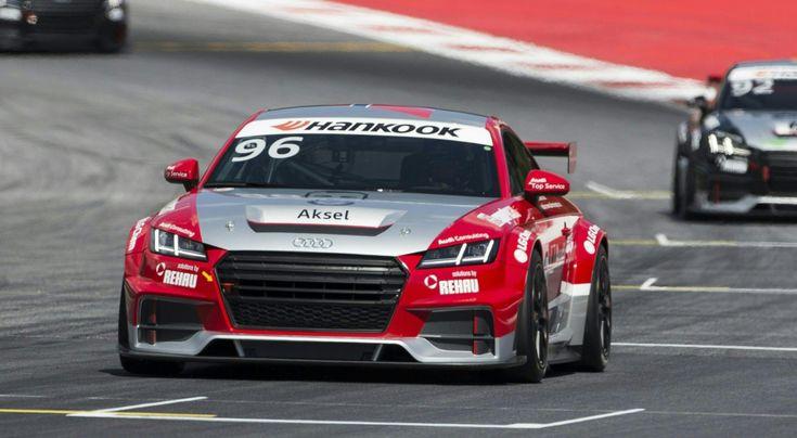 Wyścig Audi Sport TT Cup w  Spielbergu w Austrii, 2015 rok * * * * * * www.polskieradio.pl YOU TUBE www.youtube.com/user/polskieradiopl FACEBOOK www.facebook.com/polskieradiopl?ref=hl INSTAGRAM www.instagram.com/polskieradio