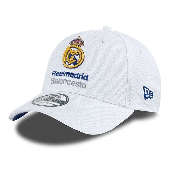 "Gorra Euroliga New Era ""Real Madrid"" 39THIRTY http://www.basketspirit.com/epages/268403.sf/es_ES/?ObjectID=4853198&ViewAction=FacetedSearchProducts&SearchString=new+era"