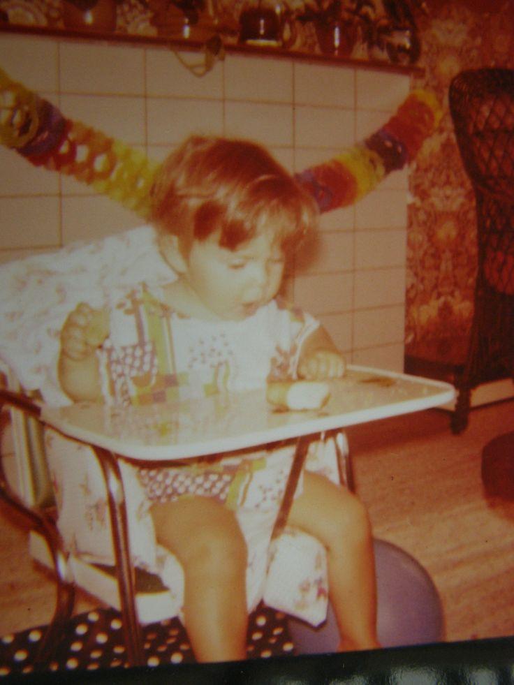 mijn eerste verjaardag amsterdam augustus 1976