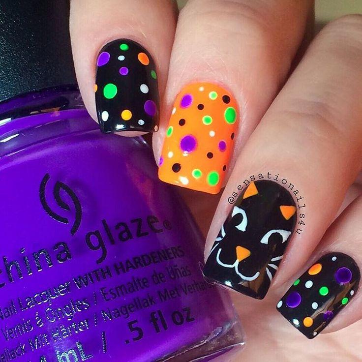 1000+ Ideas About Halloween Acrylic Nails On Pinterest