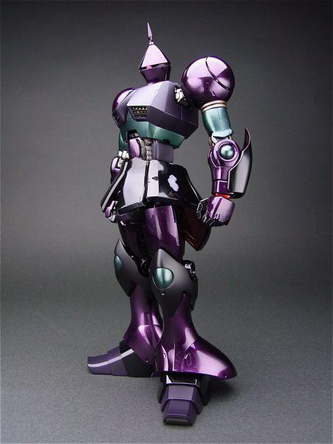 "makubenoaijin: MG 1/100 Gyan by BONDS you say ""purple mobile..."