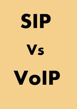 Understanding the difference between SIP and VoIP service.. and what can happen it SIP is included along with VoIP..