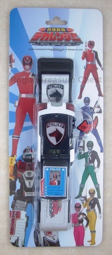 Power Rangers SPD Red Ranger Delta Morpher Children Digital Wrist Watch #SuperSentaiPowerRangers