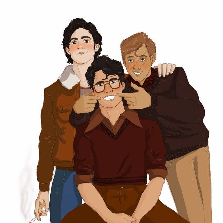 James, Sirius and Remus - The Marauders