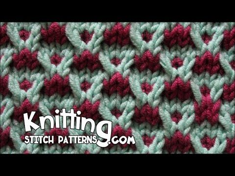 Follow this video to learn how to knit the Slip-stitch Crosses Stitch the easy…