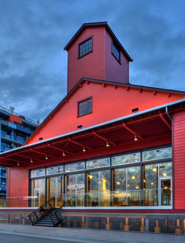 The beautiful Salt Building on False Creek, now home of Craft Beer Market Vancouver.