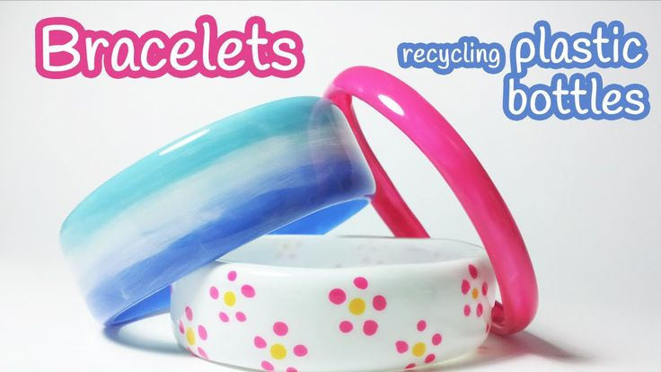 Don't throw your old plastic bottles, make bracelets! (video tutorial) #Recycled #DIY @jewelrysight