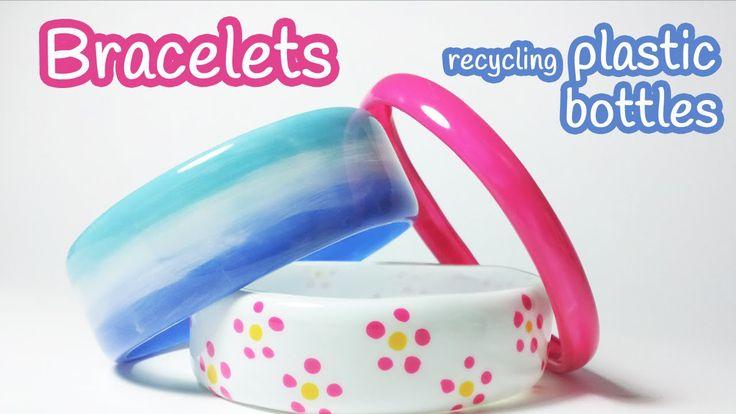DIY crafts: BRACELETS recycling plastic bottles - Innova Crafts