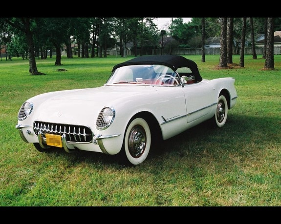 1953 chevy corvette is a sports car by the chevrolet for General motors cars models
