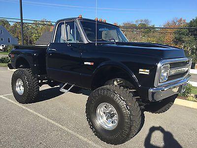 Chevrolet : C-10 C-20 4X4 1969 chevrolet 4 x 4 truck big block frame off chevy truck