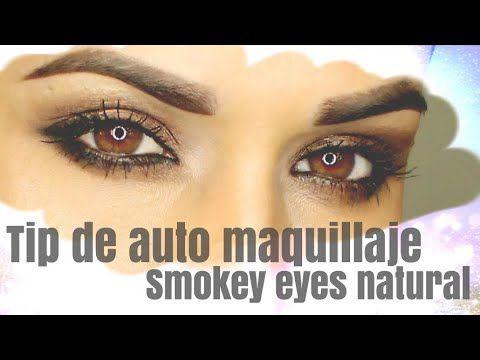 Tip de Auto Maquillaje | Smokey Eye | Clases de Maquillaje - YouTube