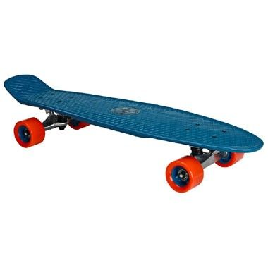 Nijdam plastic skateboard 28 inch - Flipgrip-board - lila | Intertoys