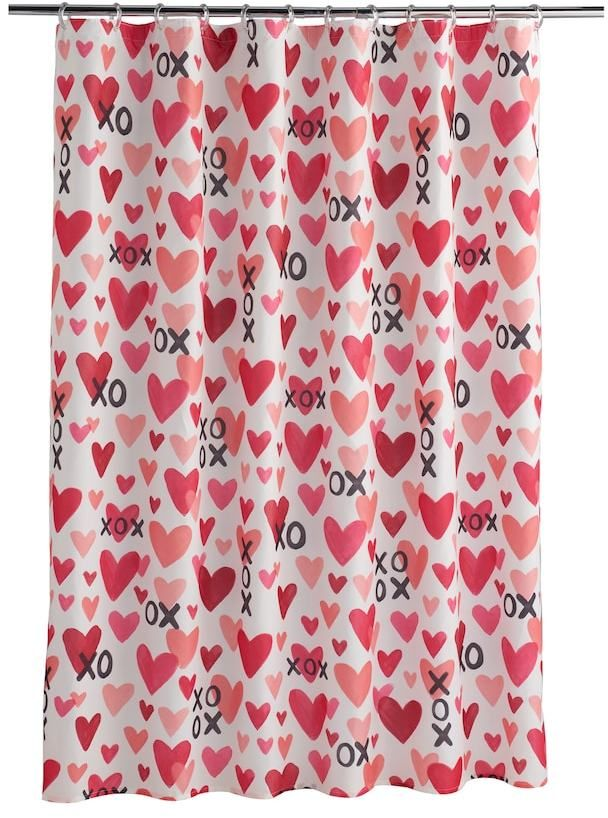 Celebrate Valentine S Day Together Xoxo Hearts Shower Curtain So