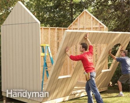 How To Build A Cheap Storage Shed Pictures
