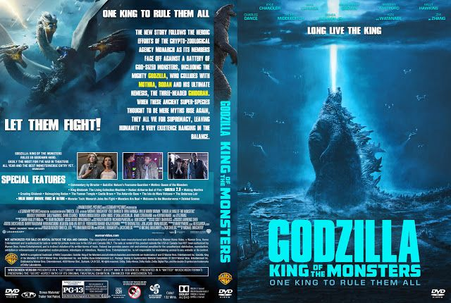 Godzilla King Of The Monsters Dvd Cover With Images Cute Love