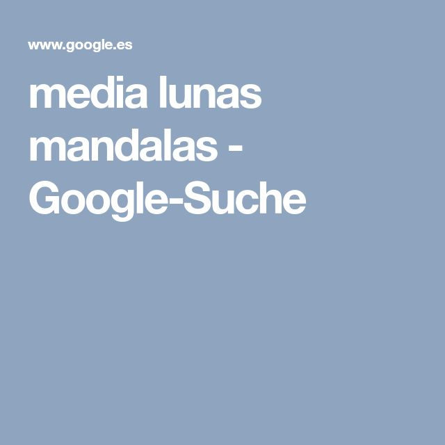 media lunas mandalas - Google-Suche