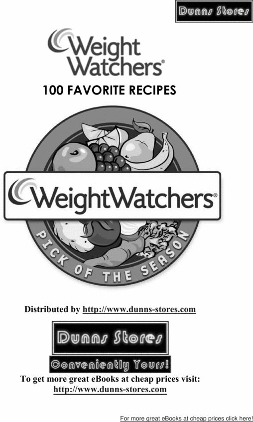 Over 1,000 Weight Watchers Recipes by Category~ this is a gold mine !!!!