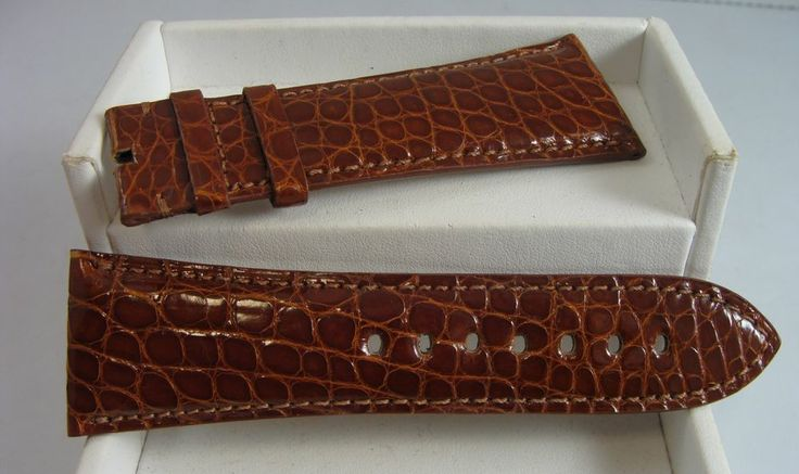 Authentic cartier tank divan crocodile 29mm xl brown for Cartier divan xl