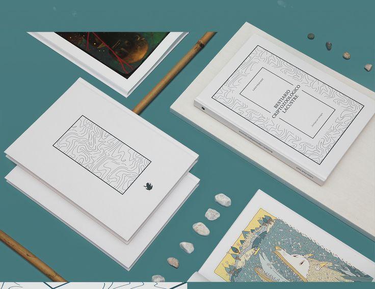 Publication Design Book Bestiario-Criptozoologico-Lacustre