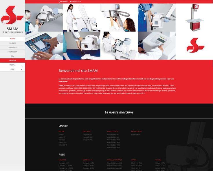 Restyling del sito web realizzato per SMAM - http://www.smam.it