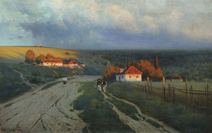 Констянтин Крижицький - Вечір на Україні (1901)
