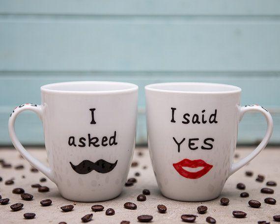 Personalized Engagement Mug Engagement Gift Mug by InspireMeMugs