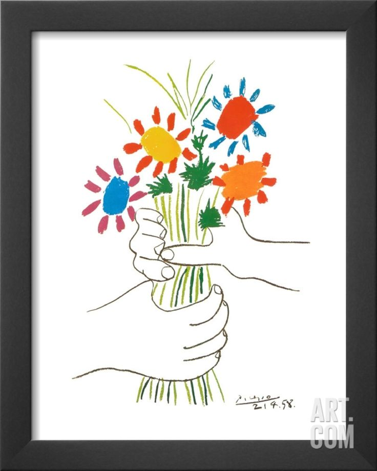 17 best images about art picasso pablo on pinterest for Picasso petite fleurs