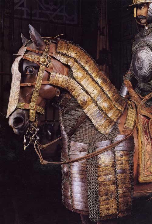 Ottoman horse armor. Stibbert Museum, Florence Italy.