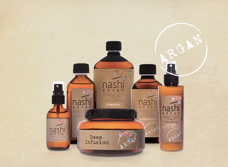 Nashi Argan è una linea semplice, elegante e efficace che soddisfa i bisogni di tutti coloro che vogliono donare e/o mantenere la bellezza dei propri capelli. #nashi #hair #beauty