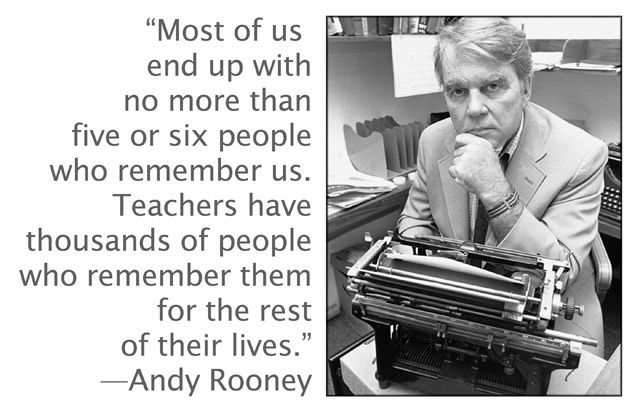 Andy Rooney--love this!!                                                                                                                                                                                 More