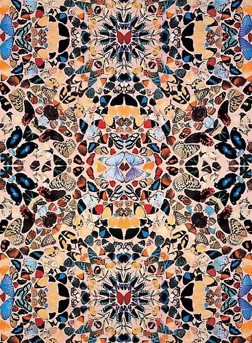 Damien Hirst - Butterfly Wallpaper - Gagosian Gallery