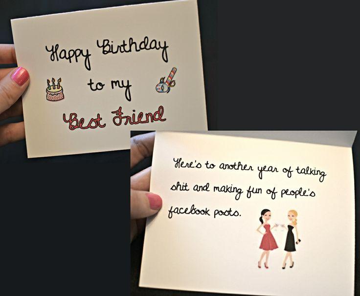 Happy Birthday To My Best Friend! Birthday Card, Funny