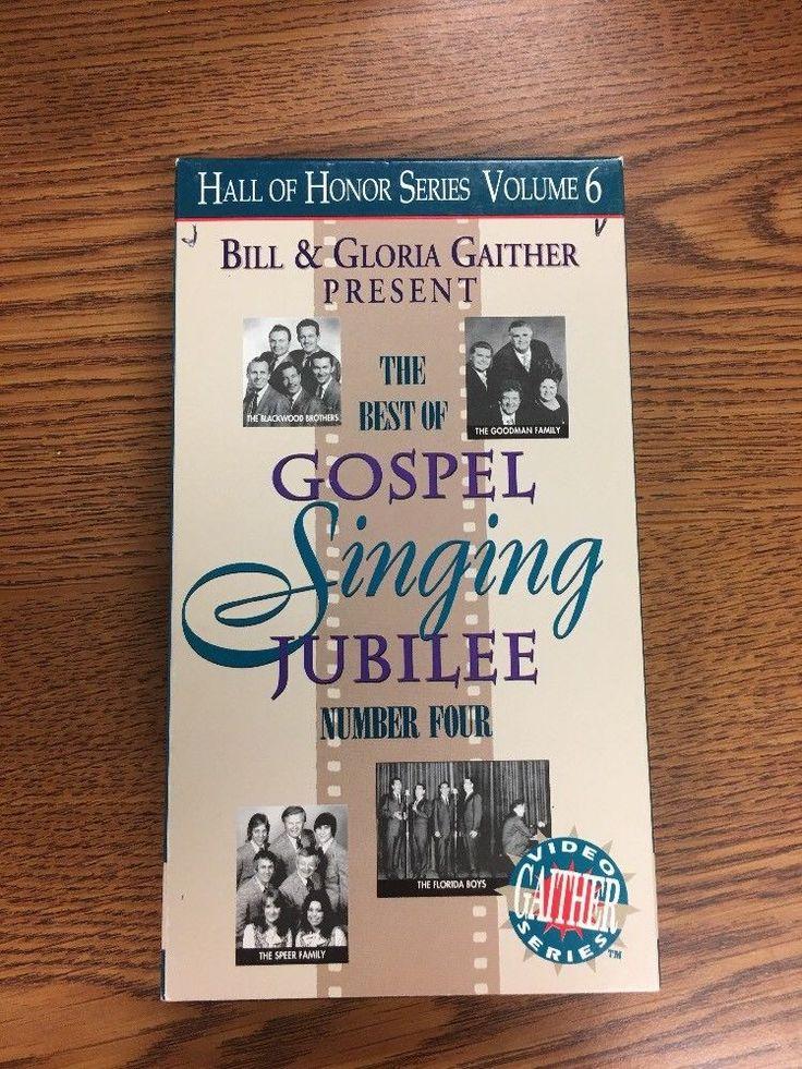 Bill & Gloria Gaither Present -The Best of Gospel Singing Jubilee Number 4 VHS